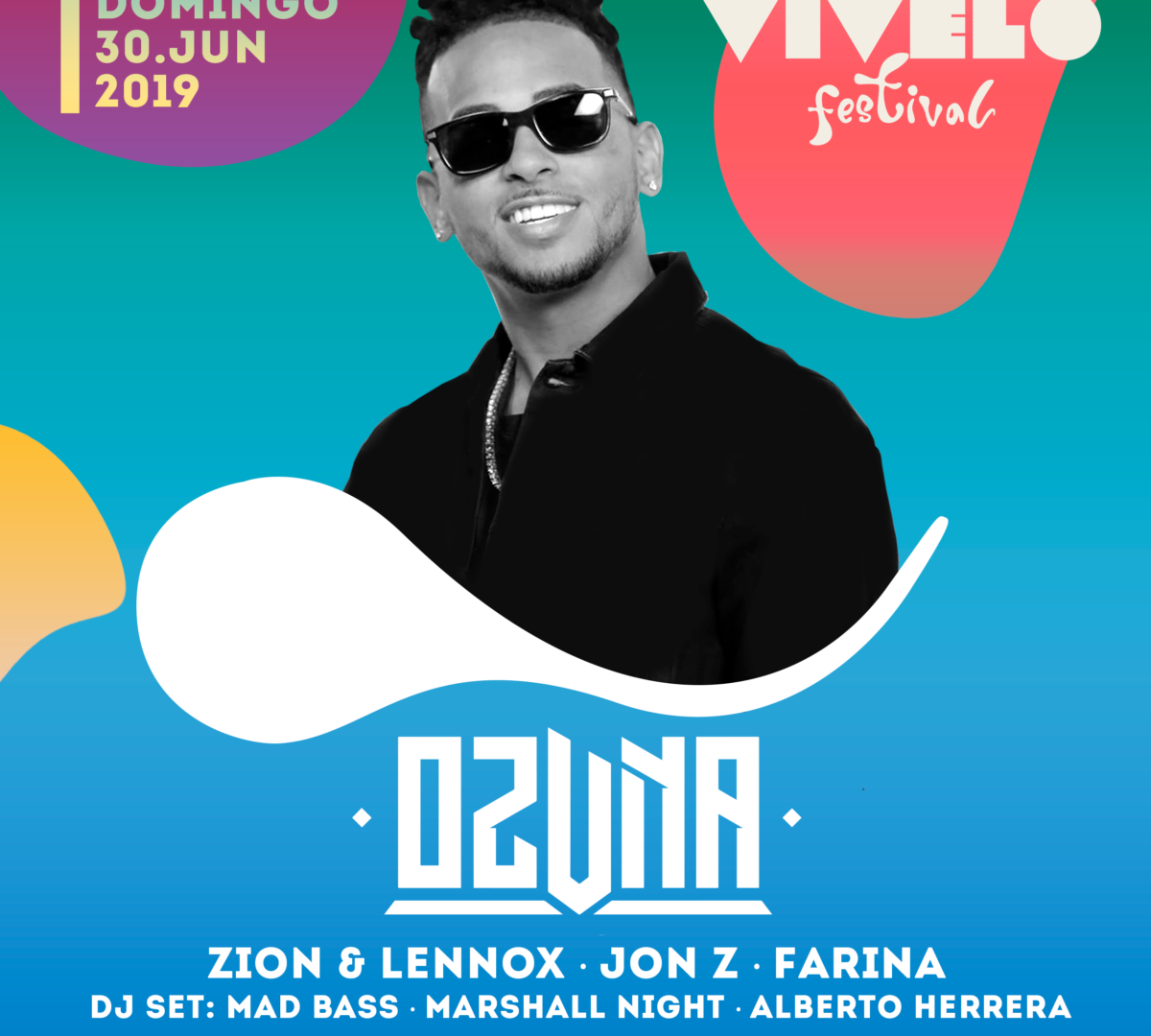 Ozuna en Barcelona - Vivelo Festival