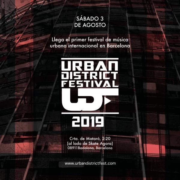 Urban District Festival. Entradas vía Luna
